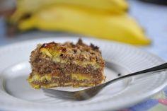 Receita: torta integral de banana de Rita Todesco Pereira Reportagem e edição: Daniela Matthes /// Imagem: Rafaela Martins///  Design: Valquíria Ortiz /// Coordenação: Mariana Furlan ////