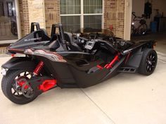 New pictures of an SS build Slingshot Bike, Polaris Slingshot, Tricycle, Reverse Trike, Trike Motorcycle, Bmw Motorcycles, Sweet Cars, Car Wheels, Future Car