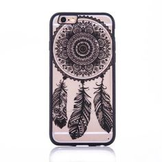 Ocean Lace Mandala iPhone hard case
