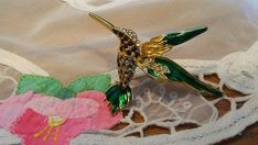 Check out this item in my Etsy shop https://www.etsy.com/listing/601198645/enamel-hummingbird-brooch