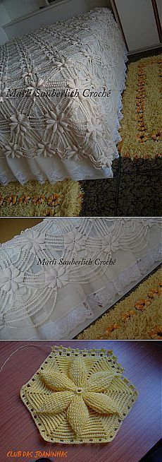 A collection of Crochet Doily