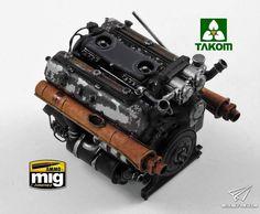 Self Propelled Artillery, Tiger Ii, Tiger Tank, Modeling Techniques, Model Tanks, Ww2 Tanks, Maybach, Panzer, Lego Star Wars