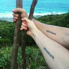 Are you a couple that love to travel? These tattoos are for you!