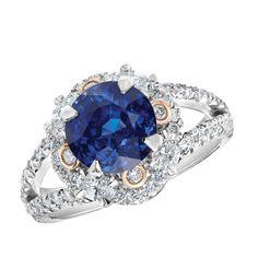 Fabergé Marie Blue Sapphire Ring #Fabergé #diamond #sapphire #ring