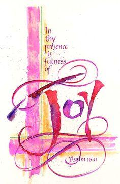Psalm 16:11 fulness of joy