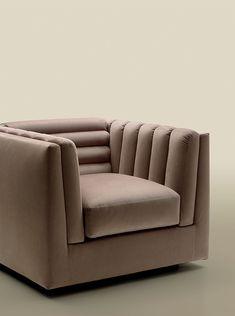 Relief armchair for Trussardi Casa www.luxurylivinggroup.com #Trussardi #LuxuryLivingGroup