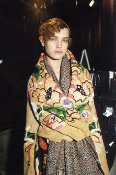 Dries Van Noten. Gorgeous embellishment. I would need to wear this with a much more streamlined outfit.