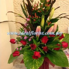 Ideal Florist & Gift Shop allows the customers to return the product in case he/she is not satisfied with it. The Online Gifts Shops and Florist in Malaysia allows an individual to have different floral arrangements and bouquets to match various budgets and occasions. Contact at: 6012-2347328.