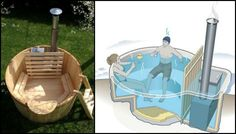 Who wouldn't want to soak in a relaxing hot tub right in their own backyard? Well, the cost of buying a commercial hot tub understandablyputs a lot of people off. But why buy when you can build one yourself? This sure doesn't fall on the easy DIY projects category ,but building your own wood-fired hot tub can save you thousands of dollars. With hard work, enough research and the help ofatrusted professional, you canhave this awesome outdoor accessory at a far more affordable price...