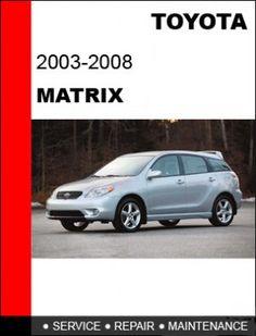 Repair Manuals, Toyota