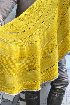 glacier sweep shawl by westknits. there's something about this shawl that's mesmerizing.