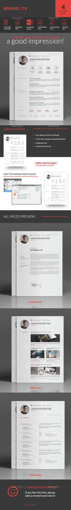 Resume Resume cv - clean resume format
