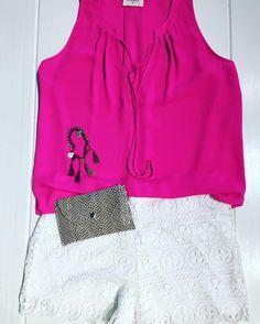 Pink, metallic and so very pretty. || Mercer