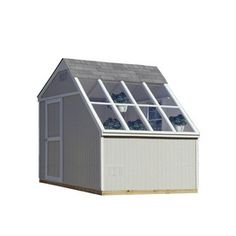 Heartland Horizon Saltbox Engineered Wood Storage Shed (Common: 10-ft x 8-ft; Interior Dimensions: 10-ft x 7.71-ft)