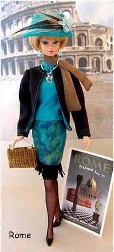 Barbie travels a lot!