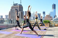 Some of us love working out while we are away. Here are some of the top fitness hotels around the world. There are some very unique ways you can workout.