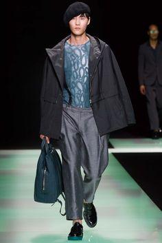 Emporio Armani Spring 2016 Menswear - Collection - Gallery - Style.com