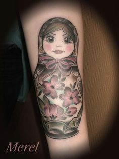 Soooo cute. Matryoshka tattoo  http://www.tattoo-team.de/tattoo/nicole.php?log=1