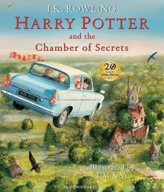 Award-winning artist Jim Kay illustrates year two of Harry Potter's adventures at Hogwarts, in a stunning, gift-ready format.The Dursleys were so mean and hideous that summer that all Harry Potter wanted was to get back to the Hogwarts School for. Harry Potter Jk Rowling, Harry Potter Schmuckausgabe, Parque Do Harry Potter, Magia Harry Potter, Draco Malfoy, Ron Y Hermione, Ron Weasley, Weasley Twins, Hogwarts