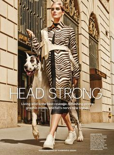 """""""Head Strong"""" by Giampaolo Sgura for Allure US September 2015"""