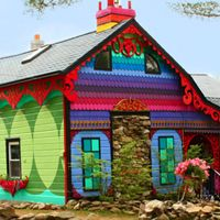 Calico, The House That Sweaters Built: too much fun, inside and out!