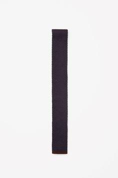 COS | Two-tone silk tie