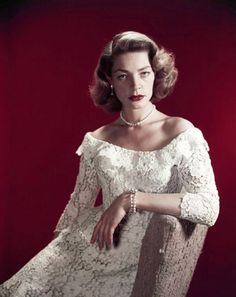 Lauren Bacall: How to Marry a Millionaire Wedding Gown