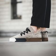 Alexander Wang X Adidas skater shoes (grey)