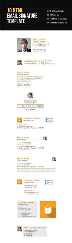 18 Best Creative Email Signatures Images Creative Email Signatures