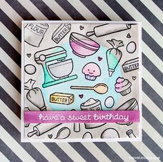 Spotlight Coloring - Make a Card Monday #274