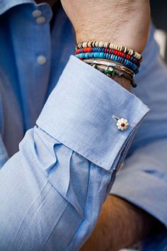 sleeve, cuff links and arm candy