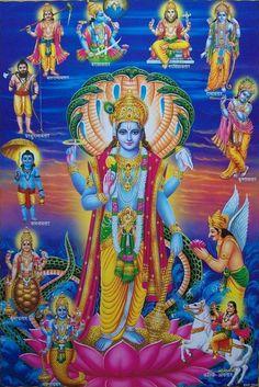 God of Protection, Preservation of Good, Karma restoration, Moksha prayer wishes quotes god food purtassi art god vishnu resting tattoo avatar Durga Images, Lord Krishna Images, Lord Vishnu, Lord Ganesha, Ganesha Art, Avatar Poster, Hanuman Wallpaper, Lord Shiva Family, Lord Krishna Wallpapers