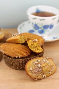 The Devil's Food Advocate: Pumpkin Browned-Butter Madeleines
