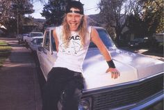 James Hetfield young