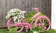 Bicycles & Beautiful Flowers