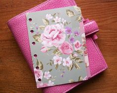 Mini, Pocket, Personal or A5 Size DIVIDERS  Cottage Chic  #454 - Fits FILOFAX