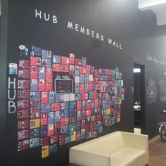 Hub Member wall