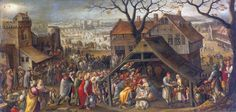 マルテン・ファン・ファルケンホルフ (Marten van Valckenborch)「東方三博士の礼拝(Adoration of the Magi)」