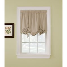 Ridgedale Woven Blackout 63-inch Tie-up Shade | Overstock.com Shopping - The Best Deals on Blinds & Shades