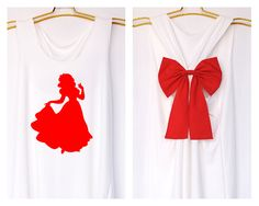 Snow white Disney Princess Tank Premium with Bow : Workout Shirt - Keep Calm Shirt - Tank Top - Bow Shirt - Razor Back Tank - Disney shirt by DollysBow on Etsy https://www.etsy.com/listing/208240444/snow-white-disney-princess-tank-premium