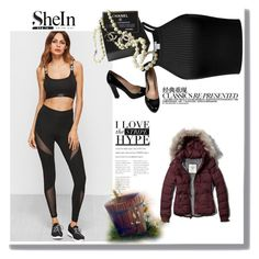 """""""shein"""" by doppelkekse ❤ liked on Polyvore featuring Chanel, Abercrombie & Fitch and Miu Miu"""