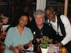 Barbara Parker with Dr. Stephen Brown on the Jazz Boat in Prague