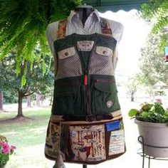 Alzheimer's personalized Memory Fidget Aprons /// quilting // 3rdRevolution