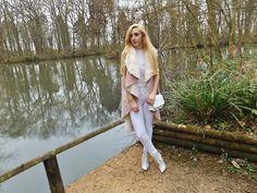 Isobel Thomas - Primark Jeans, Public Desire Boots, Dresslink Bag - Dusty Pink