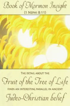 The fruit that Lehi saw in his dream has historical support in ancient Judeo-Christian belief. Learn more about these discoveries at http://www.knowhy.bookofmormoncentral.org/content/what-fruit-white  #knowhy #fruit #treeoflife #bookofmormon #lds #mormon