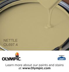 NETTLE OL697.4 is a part of the greens collection by Olympic® Paint.
