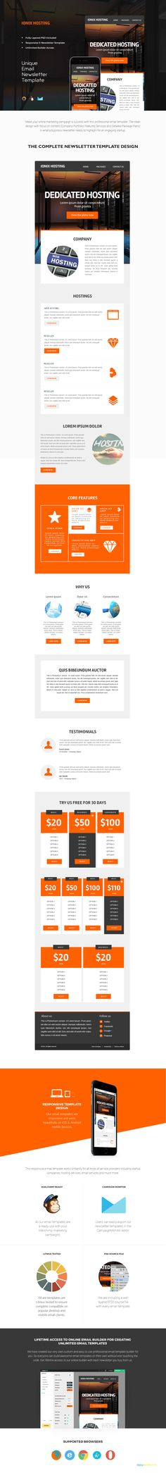 14 Email Newsletter Templates Bundle Newsletter templates, Email - example of newsletter templates