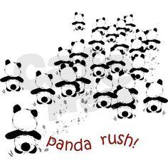 Rushing Panda T-Shirt