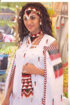 Traditional Ethiopian Oromo Bridal wear. Absolutely Gorgeous.