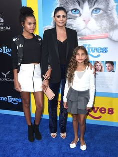Pin for Later: Rachel Roy Hits the Red Carpet With Her 2 Stunning Daughters